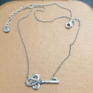 Silpada Key Necklace Sterling Silver